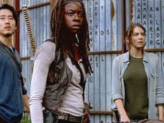 Glenn, Michonne y Maggie en The Walking Dead 6x15 East