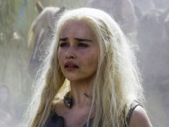 Emilia Clarke como Daenerys Targaryen en Game of Thrones 6x03 Oathbreaker