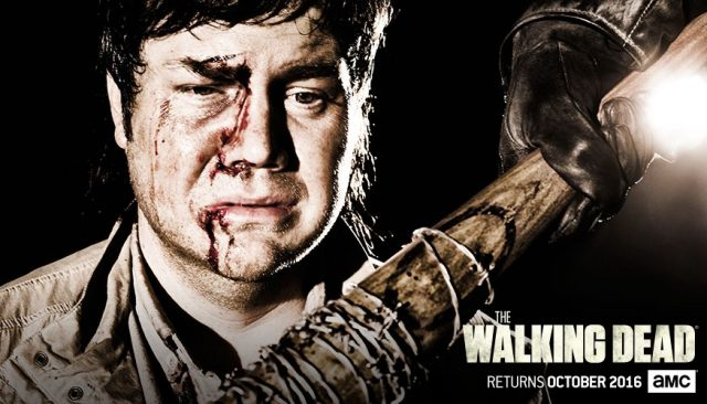 The-Walking-Dead-Season-7-Eugene-Porter-vs-Negan-Carlost-2016