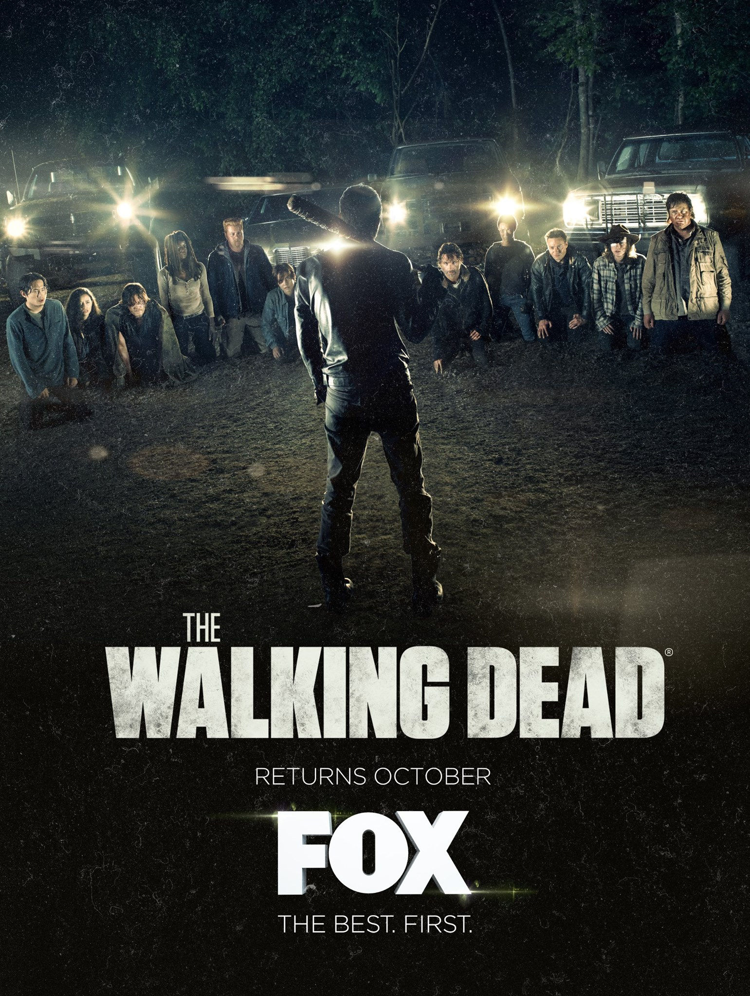 The Walking Dead Temporada 7 (BRRip Latino 720p) 2016