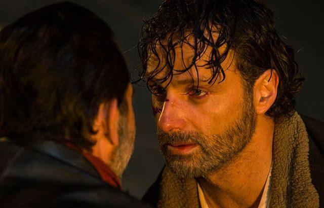 Spoiler The Walking Dead 7x01 - Negan y Rick