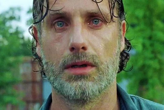 Rick Grimes (Andrew Lincoln) en The Walking Dead 7x08 (Midseason Finale)