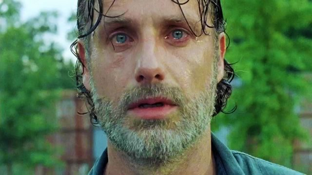 Rick Grimes (Andrew Lincoln) en The Walking Dead 7x08 (Midseason Finale)