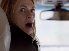 Claire Danes como Carrie Mathison en Homeland 7x09