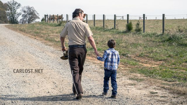 Spoilers The Walking Dead 8x16 - Rick & Carl