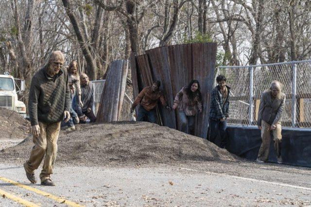 Walkers en Fear The Walking Dead 4x05