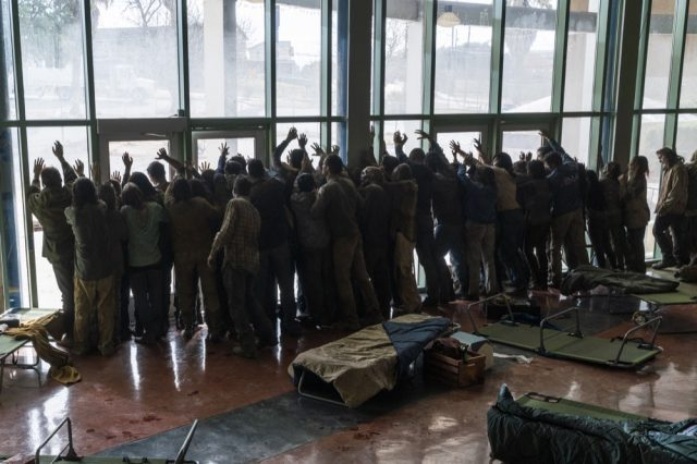 Walkers en Fear The Walking Dead 4.06