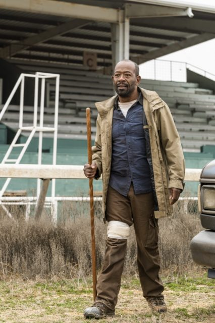 Fear the Walking Dead Temporada 4 Episodio 6 - Lennie James como Morgan Jones