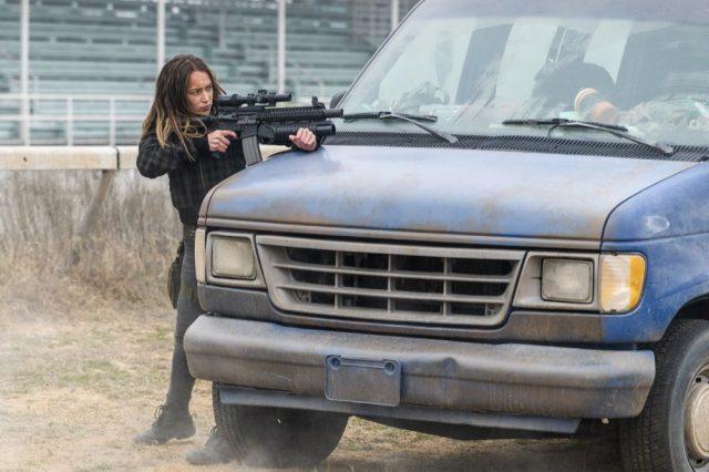 FearTWD 4×07 - Alycia Debnam-Carey como Alicia Clark