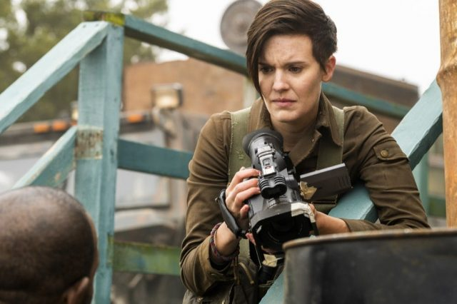 Fear The Walking Dead 4×07 – Maggie Grace como Althea