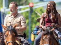 Spoiler The Walking Dead 9x01 - Rick y Michonne en el set de rodaje