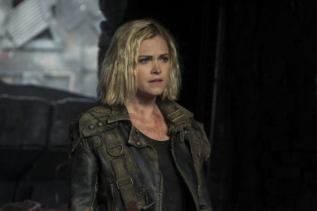 The 100 5x05 - Eliza Taylor como Clarke Griffin