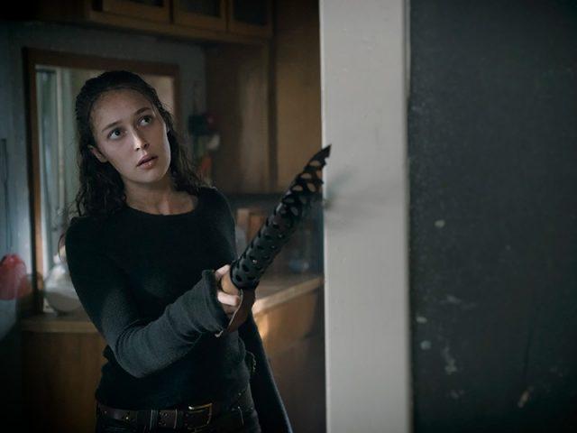 FearTWD S04E10 - Alycia Debnam-Carey como Alicia Clark