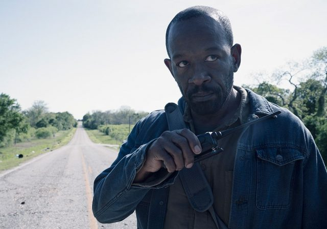 Lennie James como Morgan en Fear The Walking Dead 4x11