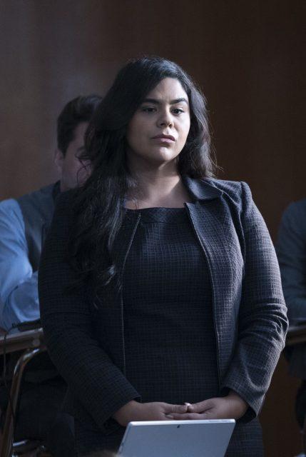 Jessica Marie Garcia como actriz invitada en HTGAWM 5x02