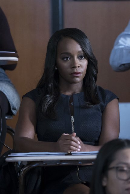 Aja Naomi King como Michaela Pratt  en How to Get Away With Murder 5x02