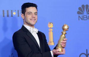 Rami Malek ganador en los Golden Globes 2019