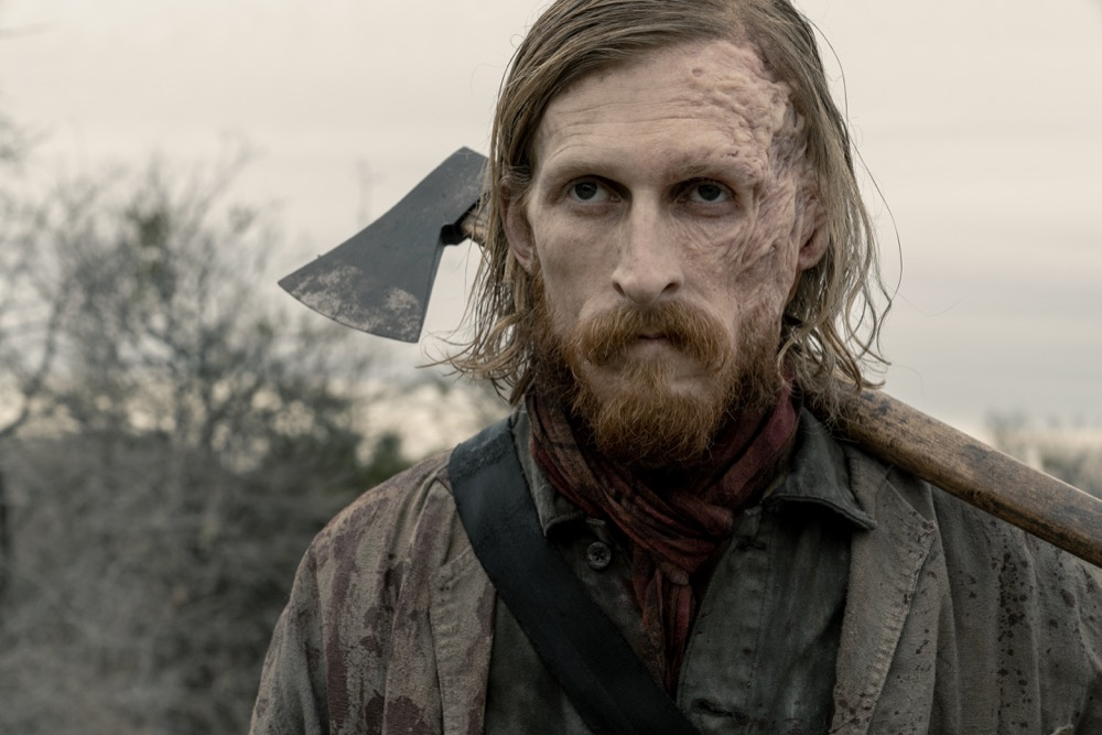 Austin Amelio como Dwight en Fear the Walking Dead 5x03