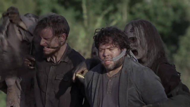 Spoiler The Walking Dead 9x11 - Alden y Luke de rehenes de los Susurradores