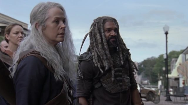 Spoiler The Walking Dead 9x11 - Carol y Ezekiel