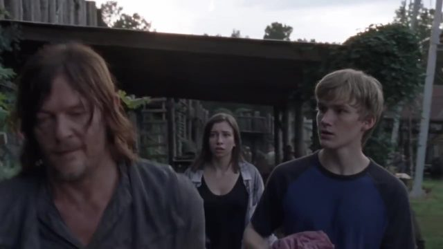 Spoiler The Walking Dead 9x11 - Daryl, Enid y Henry