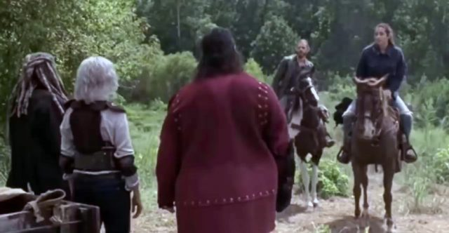Spoiler The Walking Dead 9x11 - Flashback con Jerry, Ezekiel, Carol, Tara y Jesus