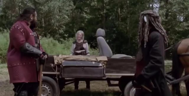 Spoiler The Walking Dead 9x11 - Flashback con Jerry, Carol y Ezekiel