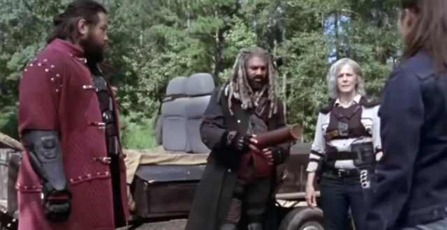 Spoiler The Walking Dead 9x11 - Flashback con Jerry, Ezekiel, Carol y Jesus