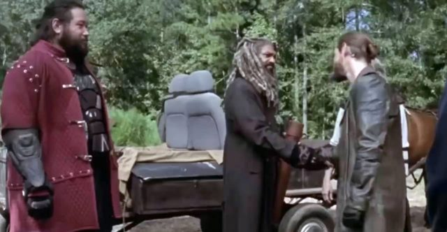 Spoiler The Walking Dead 9x11 - Flashback con Jerry, Ezekiel y Jesus