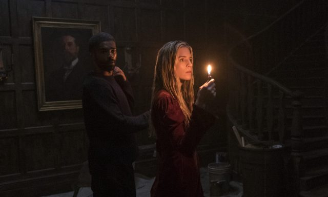 Kingsley Ben-Adir and Brit Marling in The OA: Part 2
