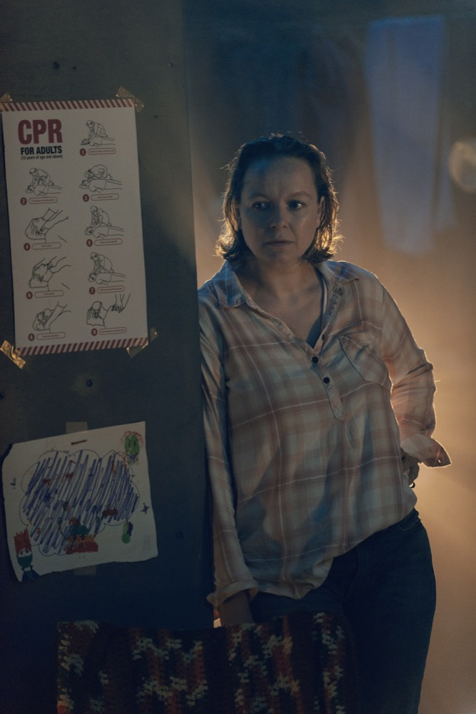 Samantha Morton como Alpha en The Walking Dead Temporada 9 Episodio 10 Omega