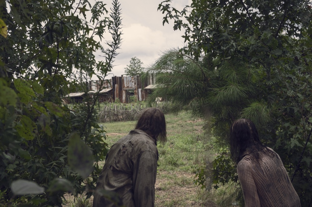 Susurradores en The Walking Dead 9x10 Omega