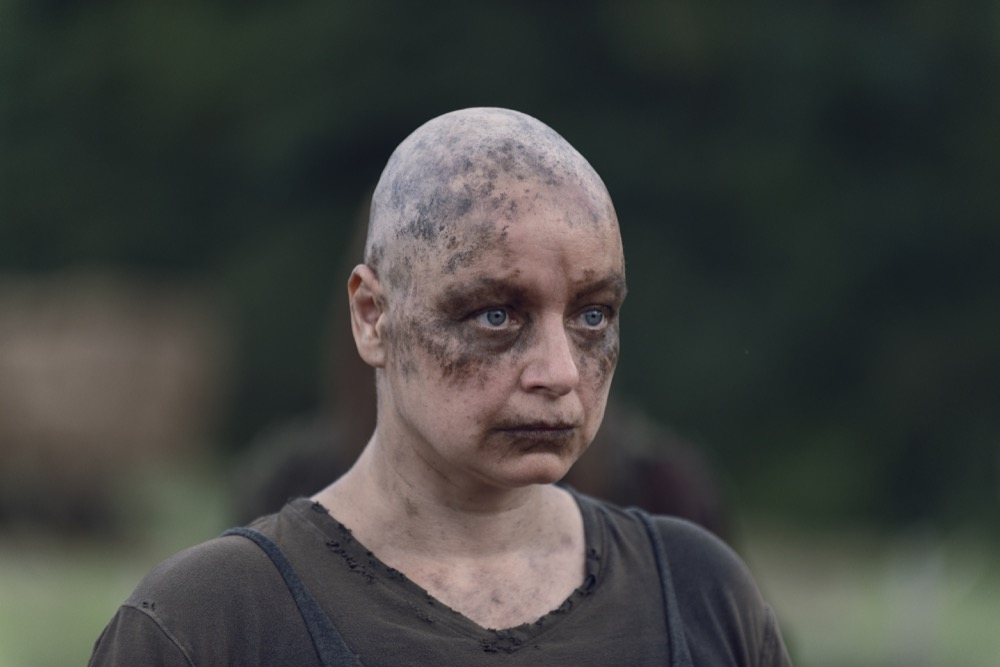 Samantha Morton como Alphaen TWD 9x11