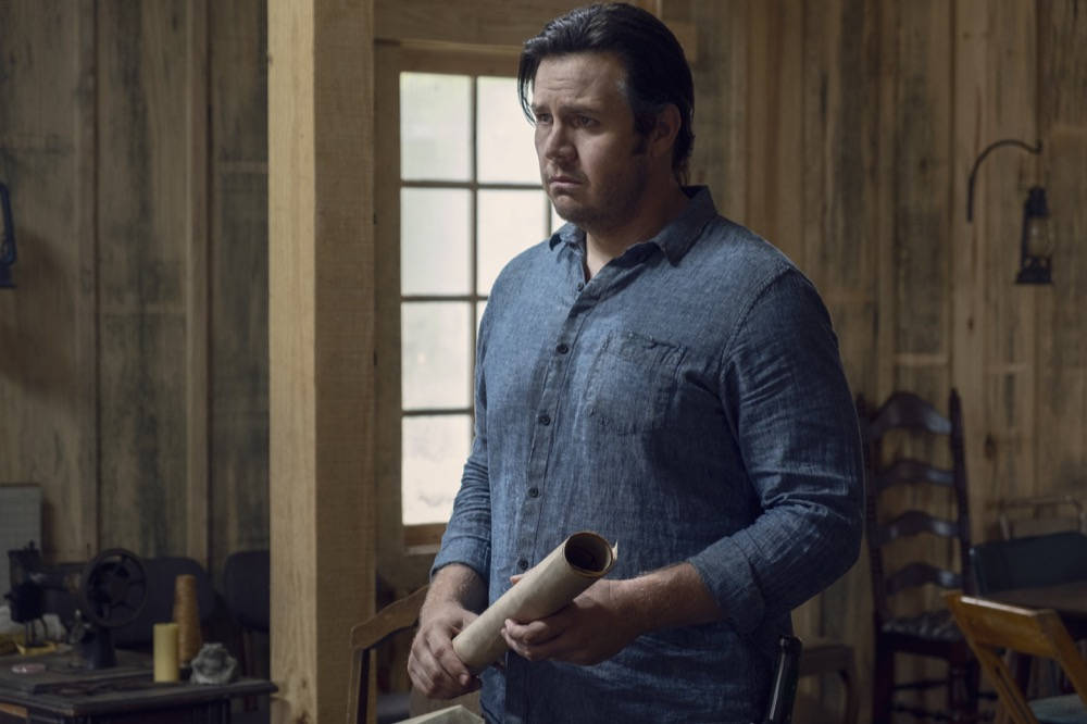 Josh McDermitt como el Dr. Eugene Porter - The Walking Dead 9x12