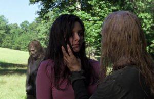 Lydia y Alpha en The Walking Dead 9x12