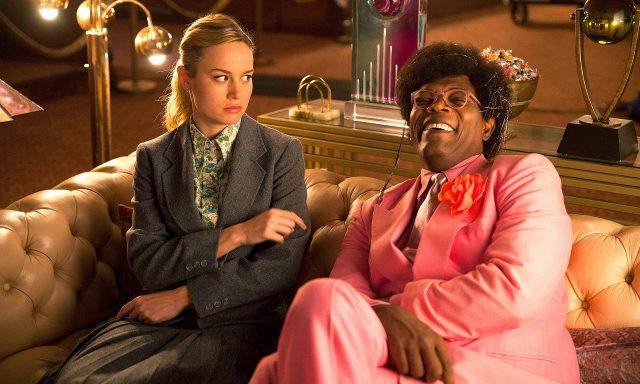 Brie Larson y Samuel L. Jackson en Unicorn Store (Tienda de Unicornios)