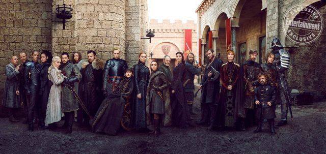 El elenco de la temporada final de Game of Thrones