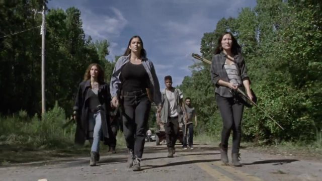 Spoiler The Walking Dead 9x13 - Magna, Tara y Yumiko rumbo a La Feria
