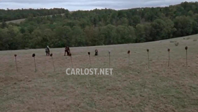 Spoiler The Walking Dead 9x15 - Cabezas en las estacas