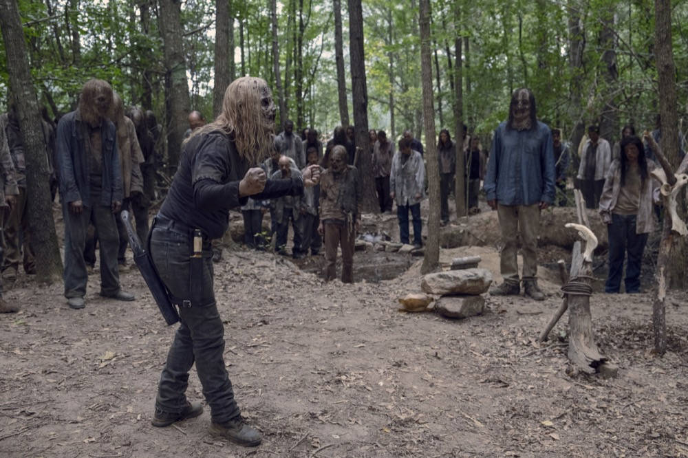 Alpha en The Walking Dead 9x12