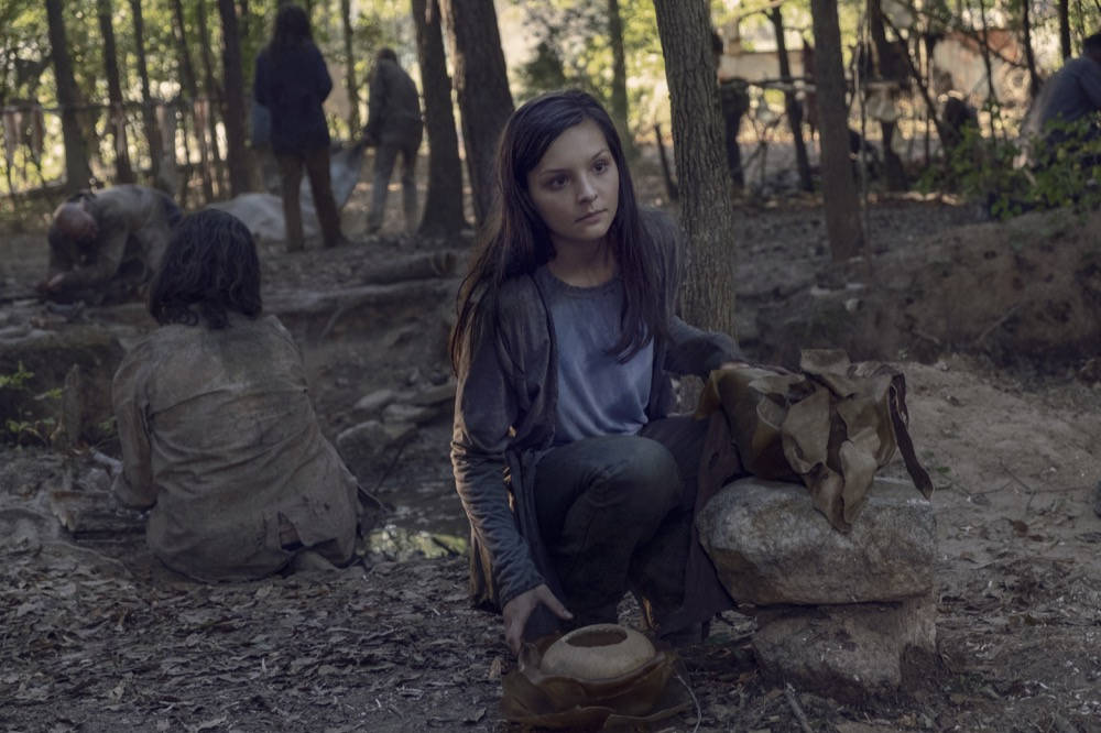 Lydia en The Walking Dead 9x12