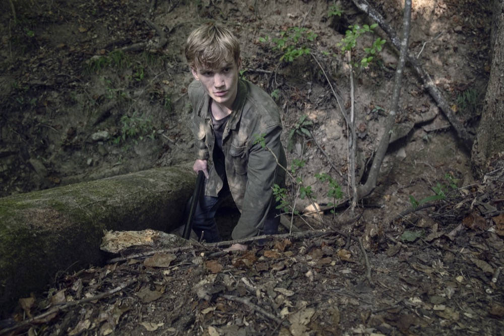 Henry en The Walking Dead 9x12