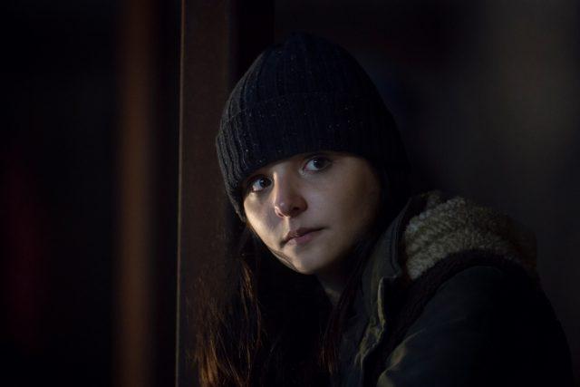 Cassady McClincy como Lydia en The Walking Dead 916 (Season Finale)
