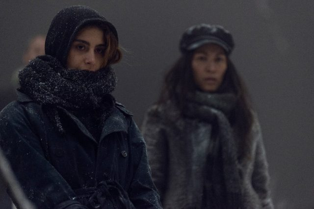 The Walking Dead 9x16 Season Finale - Nadia Hilker como Magna, Eleanor Matsuura como Yumiko