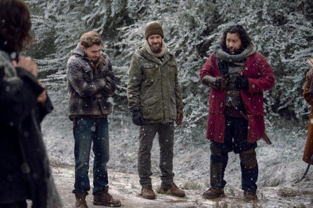 The Walking Dead 9x16 The Storm (La Tormenta) - Norman Reedus como Daryl Dixon, Callan McAuliffe como Alden, Cooper Andrews como Jerry