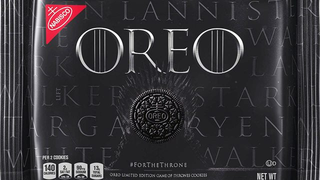 Galletas Oreo de Game of Thrones