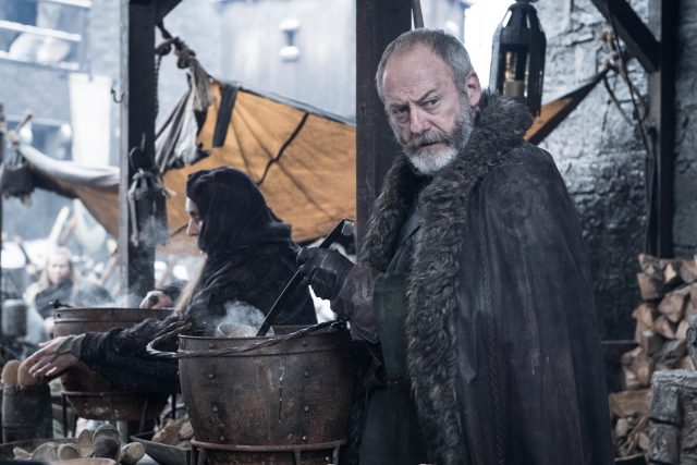 Ser Davos en Game of Thrones Temporada 8 Episodio 2