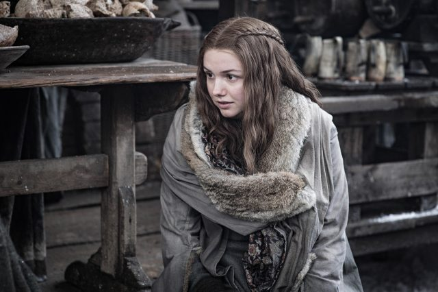 Gilly en el segundo episodio de la octava temporada de Game of Thrones