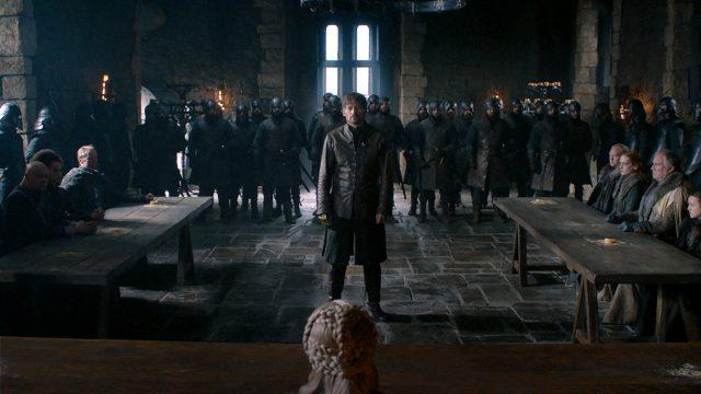 Jaime Lannister se encuentra cara a cara con Daenerys en Winterfell