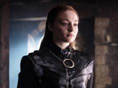 Sophie Turner como Sansa Stark en Game of Thrones 8x02